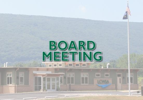LCWSA Board Meeting July 7, 2021 Slideshow